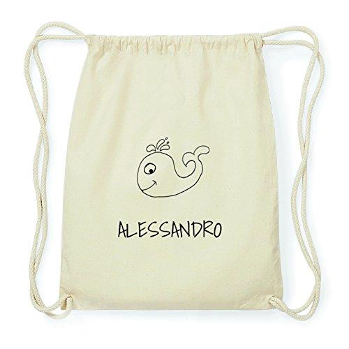 jollipets Alessandro Hipster Sacca Borsa Zaino in cotone, Design: Wal