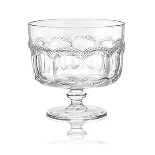 Artland Pearl Ridge Trifle Bowl, Clear