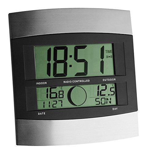 Ziel 98.1006 Orologio digitale da parete con termometro esterno