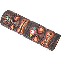 Maschera maschera Tiki legno maschera 50cm look Totem parete Hawaii Maui Isola di Pasqua Kauai
