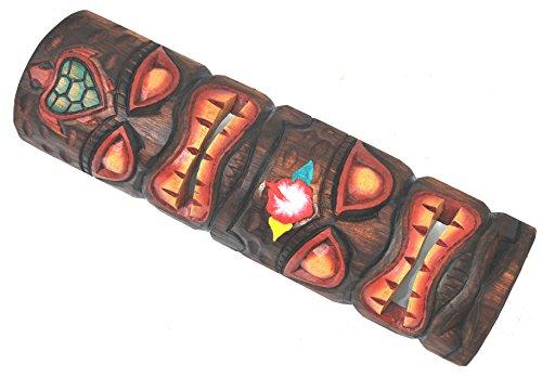Tiki-pared-Mscara-50-cm-en-Totem-Look-Madera-Mscara-Hawaii-Maui-Mscara-Isla-de-Pascua-Kauai