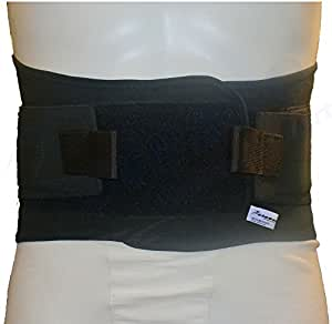 Advanced Lower Back Support Belt (Medium, Black)