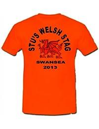 Walisischer Drache Hirsch T-Shirt £ 9,95, personalisierbar, Versandkostenfrei.