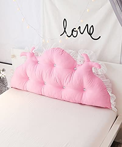 GUOWEI Reading Pillow Brushed Pure Support Bedside Cushion Bed Head Pillow Reading Backrest Detachable Buttons-Twin Size/Full Size/Queen Size/King Size Lumbar Pad ( Color : 5* , Size : 180*15*65cm )
