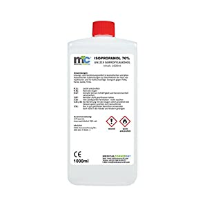 Medicalcorner24® 1 Liter Isopropanol 70% Isopropylalkohol 2 Propanol Cleaner, Reinger