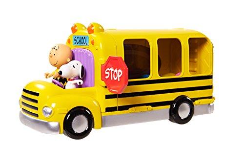 IMC Toys - 335059SN - Snoopy Playset Scuolabus con 3 Personaggi ed Accessori