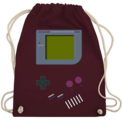 Nerds & Geeks - Gameboy - Unisize - Bordeauxrot - WM110 - Turnbeutel & Gym Bag