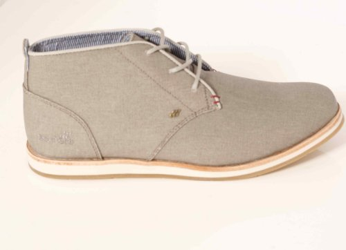 Boxfresh Dalston Canvas Waxed Dark Brown Grau