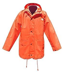 Veste de pluie Ocean 'Budget' - jaune ou vert olive, Couleur:oranger;Taille:XXXL