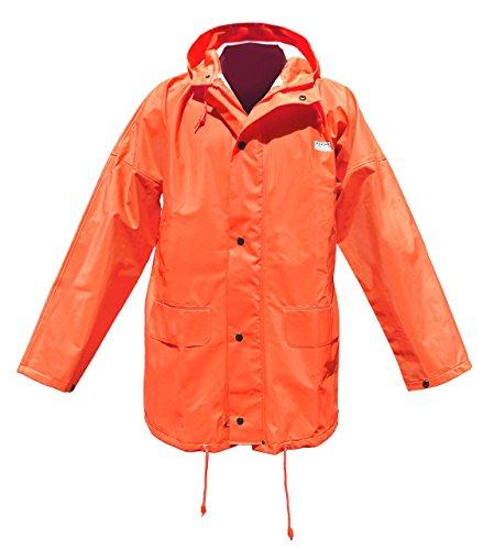 Ocean Rainwear Regenjacke Modell Budget, Farbe:orange;Größe:S