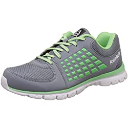Reebok Women's Electrify Speed Dust/Seagreen/Silver/Wht Running Shoes - 5 UK/India (38 EU)(7.5 US)