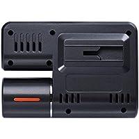 Car DVR visione notturna - Kingwo HD DVR 170 ° Car Dash Cam Recorder Monitor con la parte anteriore 1080p Camera Lens LED di visione notturna di G-sensor + telecamera posteriore