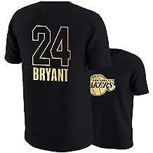 Shocly Manga Corta Camiseta Lakers De Los Angeles James Kobe Bryant Baloncesto Club para NiñOs NiñAs
