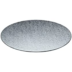 Kitchen Craft Sweetly Does It - Base para pastel (grosor doble de 3 mm, 30 cm de diámetro), diseño redondo