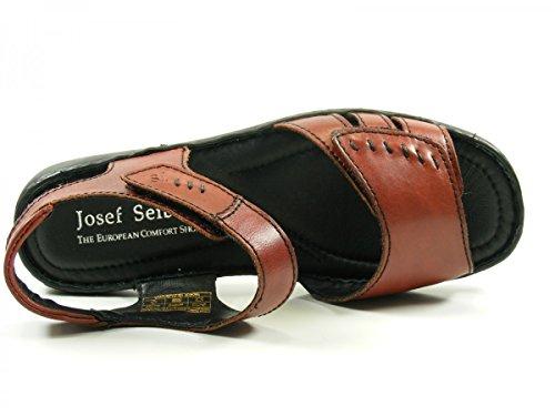 Josef Seibel 73715 Lisa 01 Sandali Donna Rot