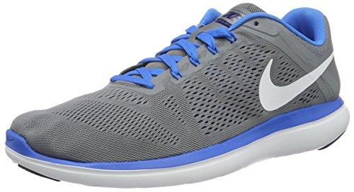 Nike Herren Flex 2016 Run Laufschuhe Grau (Cool Grey/White-Lyl Bl-Pht Bl)