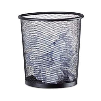 Papierkorb 19l Drahtkorb Papiereimer Mülleimer Draht Drahteimer Abfalleimer Rund