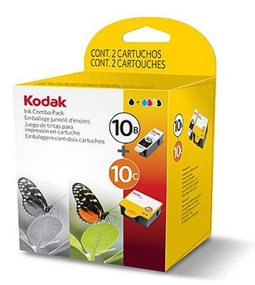 Multipack von Kodak für ESP Office 7250(2x Patronen, Color + Black) ESP7250420/425Seiten (10c Farbe Tinte Patrone)