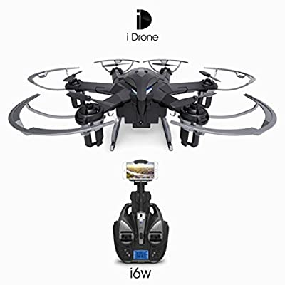 MML New iDrone i6W Wifi FPV Live HD Camera RC Flying Quadcopter 2.4G 6-Axis Gyro