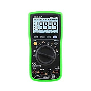ANENG AN870 19999 Counts Auto Range Digital Multimeter NCV Ohm Meter AC DC Voltage Ammeter Voltmeter Temperature Tester