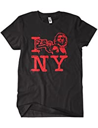 Escape from new york movie t shirt kurt russell i_love_escape_from_NY_Black