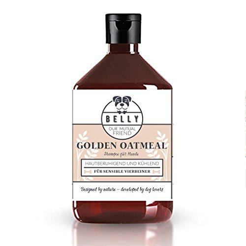 Hundeshampoo von Belly 500ml Flasche | Premium Hundepflege Shampoo für gereizte & trockene Haut | Hund Shampoo ist auch als Hundeshampoo für Welpen geeignet