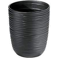 mDesign in ceramica cestino pattumiera per bagno, ufficio, cucina, colore: