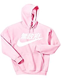 Air Anarchy Sweat à Capuche Rose Air Tokyo Hoodie
