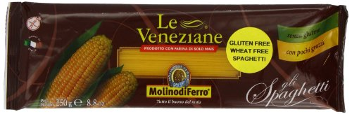 Price comparison product image Le Veneziane Gluten Free Spaghetti 250 g (Pack of 4)