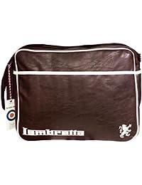 LAMBRETTA - Bolso al hombro para hombre marrón marrón