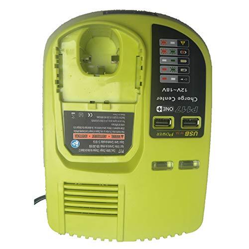 P117 Chargeur de remplacement pour Ryobi 12-18V NI-CD NI-MH...