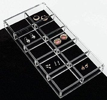 rev-a-shelf ca-lgorg-1Acryl Schmuck Organizer, transparent (Klar Shelf Organizer)