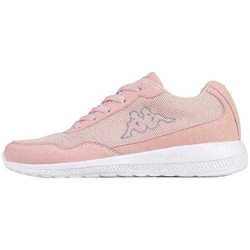 Kappa Unisex-Erwachsene Follow Sneaker Pink (2114 Rosé/L´Grey)