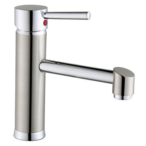 QMPZG-Mode-kreative Persönlichkeit Waschtisch-Armatur, Kupfer heiß und kalt, Wasserbecken spülen, Armaturen
