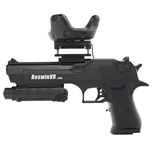 Contrôleur de jeu en réalité virtuelle Pistolet BeswinVR HTC Vive Pro 2.0 | Vive 1.0-Ready avec retour de recul puissant (brevet de modèle d'utilité protégé)