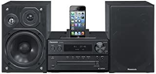 Panasonic SC-PMX7DBEBK 120W Micro System with Integrated Dock for iPod and iPhone - Black (B00BYTUYFC) | Amazon price tracker / tracking, Amazon price history charts, Amazon price watches, Amazon price drop alerts