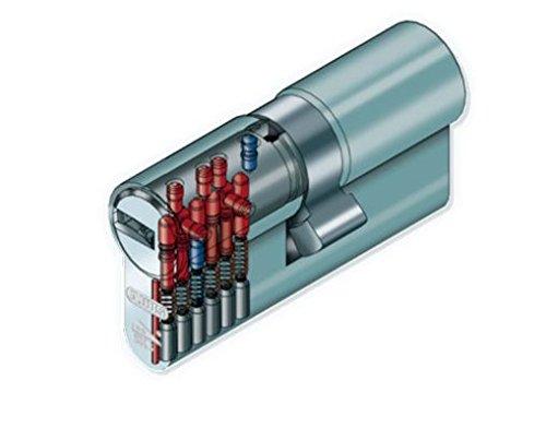 ABUS Profilzylinder XP20SN mit Sicherungskarte und 3 Schlüssel - 3