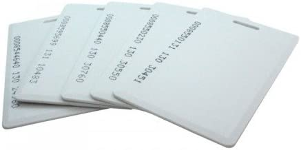 Navkar Set Of 50 RFID Cards For Time Attendance Or Access Control System Having RFID