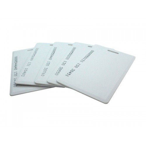 SET OF 500 RFID CARDS FOR TIME ATTENDANCE OR ACCESS CONTROL SYSTEM HAVING RFID