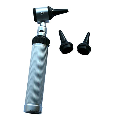 Otoscope Set With Case and Free Accessories, Stainless Steel New Design