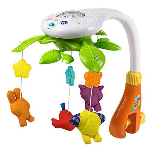 winfun - Movil proyector musical para cuna con animalitos (44241)