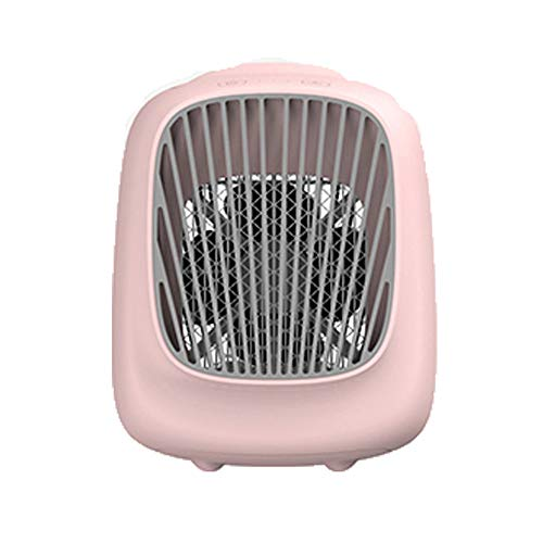 ZGZFEIYU Fan,Portable,Air Cooler,Humidifier,Purifier,Mini Air Conditioner Fan Noiseless evaporative Cooler Mobile,Touch Control Fan for Home Office car Outdoor -
