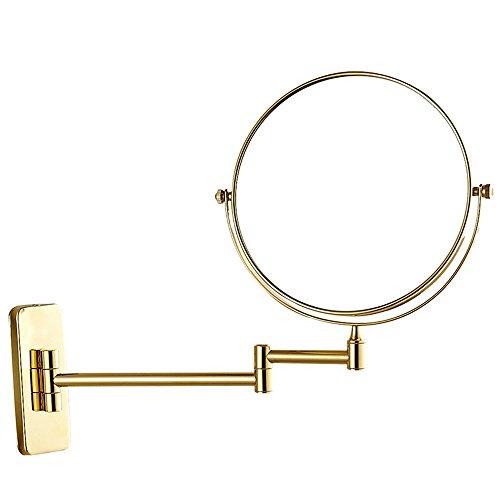 SYW spiegel im bad hängen wall - edelstahl - schönheit spiegel, europäischen stil kein licht kosmetikspiegel 8 zentimeter rasierspiegel,b