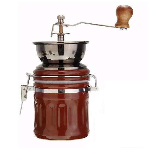 DuDuDu Céramique INOX rétro Manuel café Haricots meuleuse écrou Moulin Main Fraiser