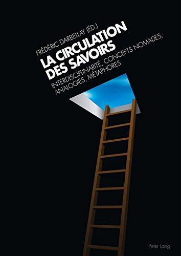 La circulation des savoirs. Interdisciplinarité, concepts nomades, analogies, métaphores