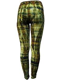 Panasiam® Legging, wohlig weich, passt M bis L, knallige feste Farben, TOP QUALITÄT, stretchy, in vielen Styles !! Qualitätsprodukt