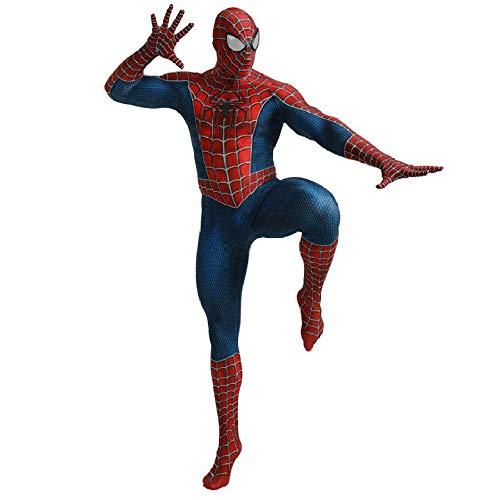 Mann Spider Kostüm Jungen - HEROMEN Tony Spider Kostüm Cosplay Mann Jungen Und Mädchen All-Inclusive Strumpfhose Jumpsuit Cos,Adult-XXXL