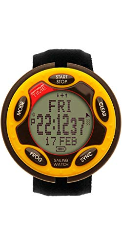 Optimum Time OS Series 14 Rechargable Sailing Watch Yellow 1455