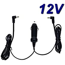Cargador de coche 12V para reproductor DVD portátil Sunstech dlpm959bk