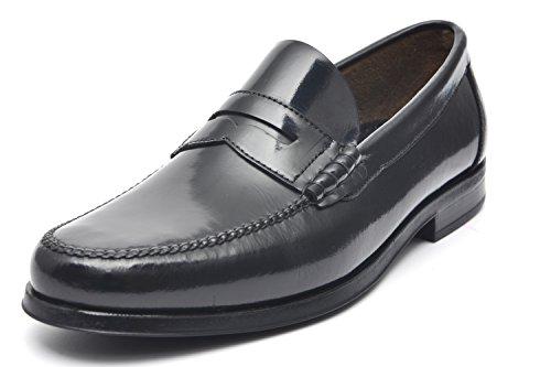 G&P cobbler Mocassini Artigianali, Colore: Nero, Taglia: 45